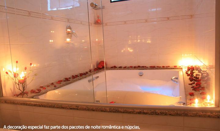 Foto da suíte do Hotel Dom Leopoldo