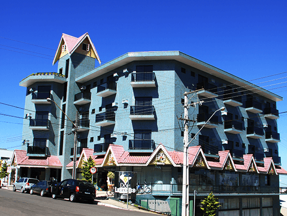 Hotel em São Mateus do Sul, PR, único 04 estrelas da região