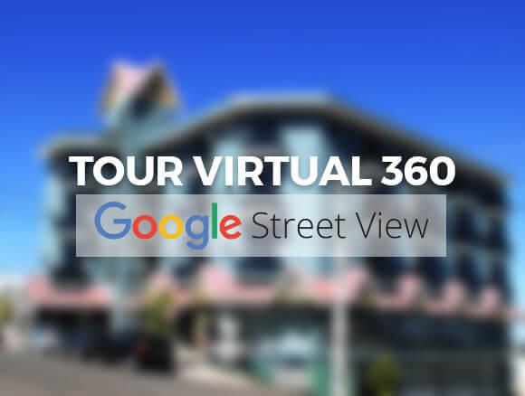 Faça um tour pelo Hotel Dom Leopoldo por meio do Google Street View